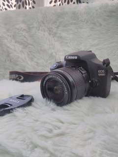 Canon eos 1200D body & lens only