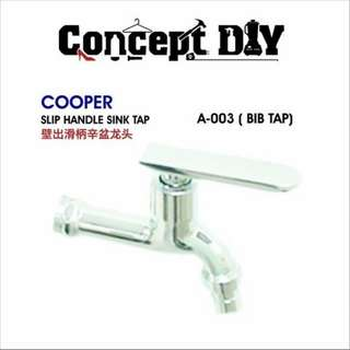 Slip/Cross Handle Sink Tap A&B-003 (Bib Tap)