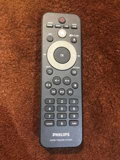 Philips Home Theater System Remote Control Unit