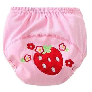 3 Layers Waterproof Training Pants (Strawberry/Cat/Elephant)