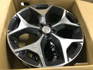 "Used SJ Forester 18"" Set"