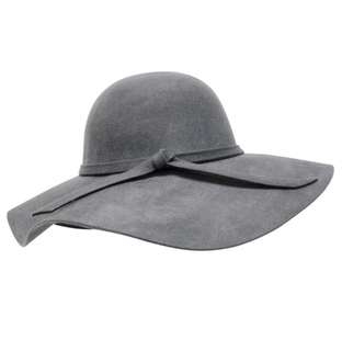 BRANDY MELVILLE WOOL FELT FLOPPY HAT