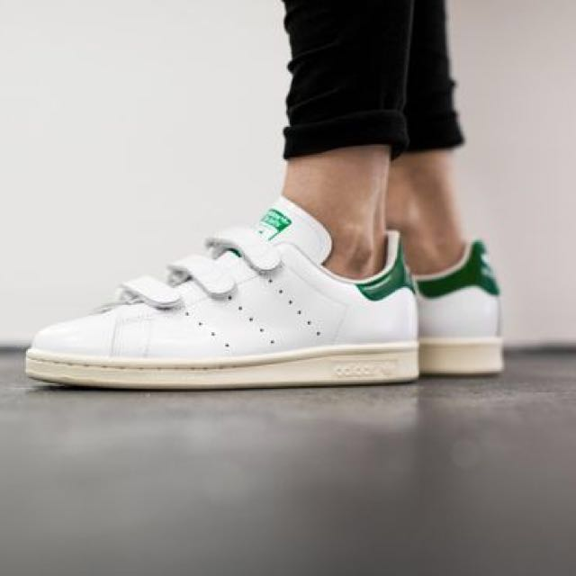 low priced 61f93 c85d3 adidas stan smith velcro green, adidas Originals Superstar ...