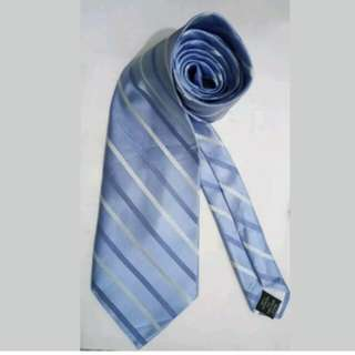 MA96 Jones New York Blue Silk Necktie / Cravat