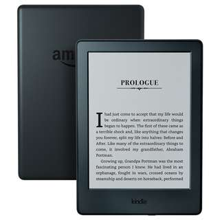 "Kindle E-reader - Black, 6"" Glare-Free Touchscreen Display, Wi-Fi - Includes Ads (Not Paperwhite version)"