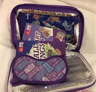 Emirates kids lunch pack