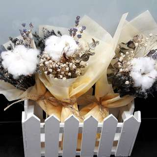 Mini Cotton Bouquet