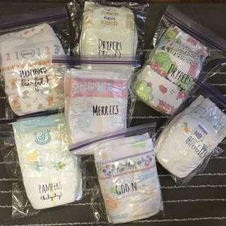 Newborn Diapers Sample Pack