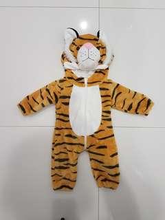 Baby - Tiger Onesie costume