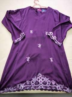 Baju Kurung Sulam Koleksi Dang Anum