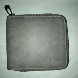 Small Gray Wallet