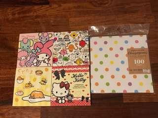 Mini books & decorative paper