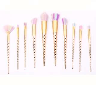 10pcs. Unicorn set brush