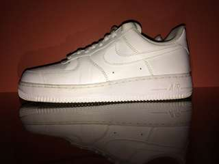 Nike Air Force 1 Low's (White)