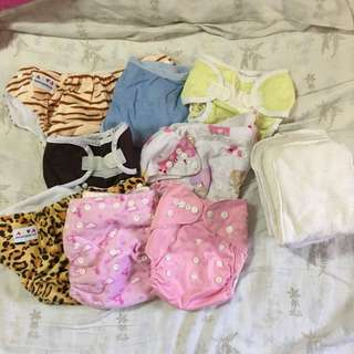 Baby Cloth Diaper & Insert SET