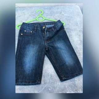 Justees maong shorts for kids