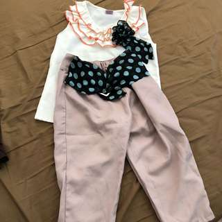 Formal Top and Pants (250 each)