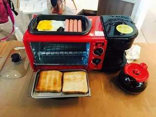 3 in 1 Breakfast Maker * RM160 x 1;RM300 for 2 !!!