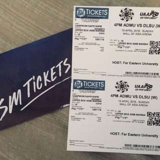 UAAP TICKET: Ateneo-Lasalle