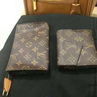 Authentic Long Zip Wallet