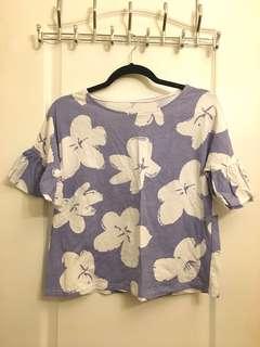 Cute Big Floral Shirt