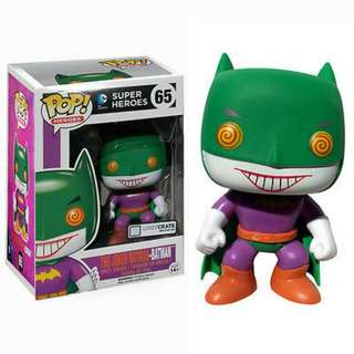 The Joker Batman-Batman Lootcrate Funko Pop