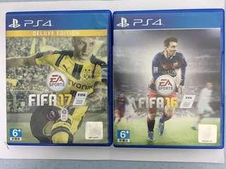 Fifa 16 & 17 Deluxe Edition