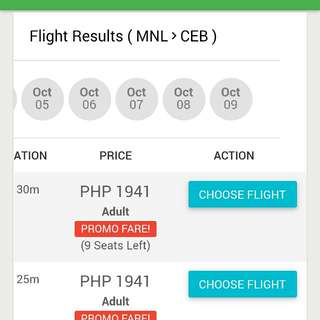Manila to Cebu