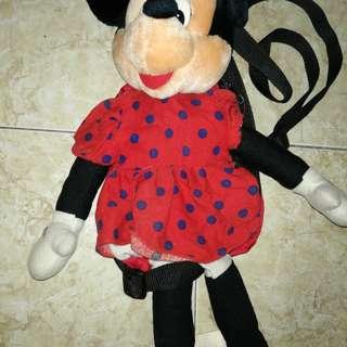 Tas anak minnie mouse
