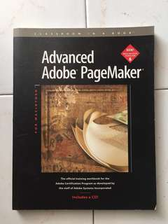 Advanced Adobe PageMaker with CD