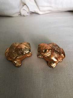 Chung Khiaw Bank Brass Frog