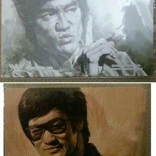 Bruce Lee 李小龍 中國 NewWebPick 電子雜誌支付卡 2 張 (全新未擦密碼,已過期,只供收藏)