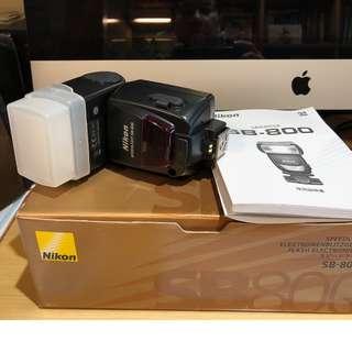 🚚 Nikon SB-800 閃光燈