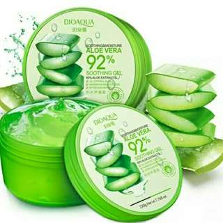 Natural extract 92% aloe gel ori