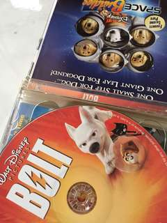 Bolt movies vcds