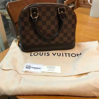 全新 精品 Louis Vuitton LV N41221 ALMA BB 小手提艾瑪包