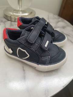 Zara Baby Blue and Red Shoes Size 19
