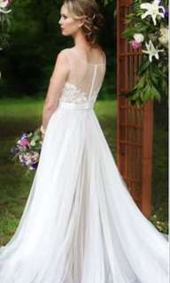 Watters style wedding dress gown 輕 婚紗