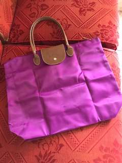 Redtag Purple Tote Bag
