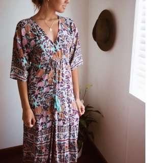 Arnhem Kimono Dress
