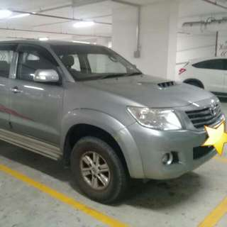TOYOTA HILUX 2.5 MANUAL VNT 2014