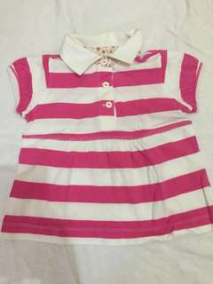 BABY GAP: Polo blouse (6-12 months)