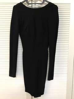 H&M sexy backless dress