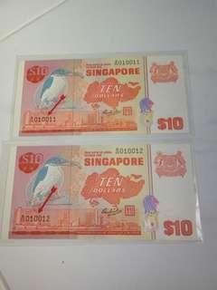 $10. ( 鳥 )  Bird