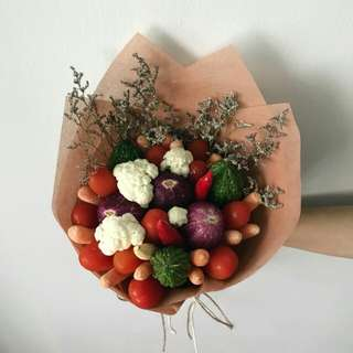 Mixed vegetables bouquet