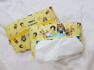 Customise goodie bag - tissue pouch