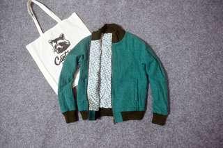 Narumi wool bomber jacket