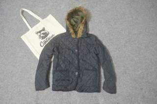 Cynthia reversible parka jacket