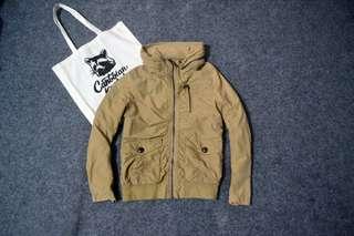 Corn Flake parka jacket