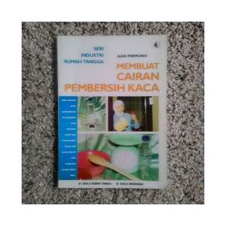 Buku Membuat Cairan Pembersih Kaca